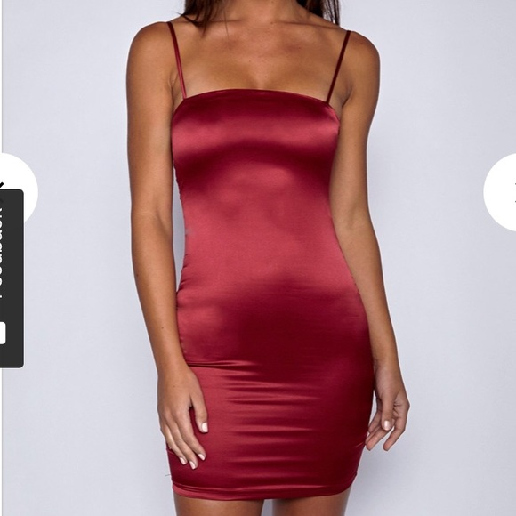 Babyboo Fashion Dresses   Skirts - red silk formal bodycon dress! 885b19f0f191